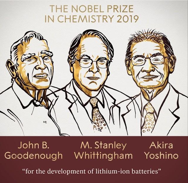 2019 Nobel Prize Award in Chemistry