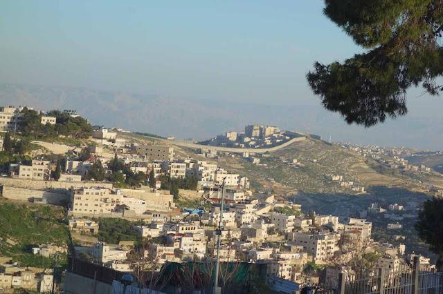 Le mur de séparation - Jérusalem Est
