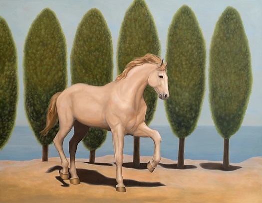 """Horse in Ravelo"" by JUAN KELLY 