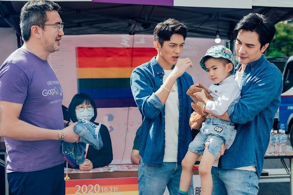 《酷蓋爸爸》小孩走失橋段,巧妙安排現實中生父(左:林志杰)尋回