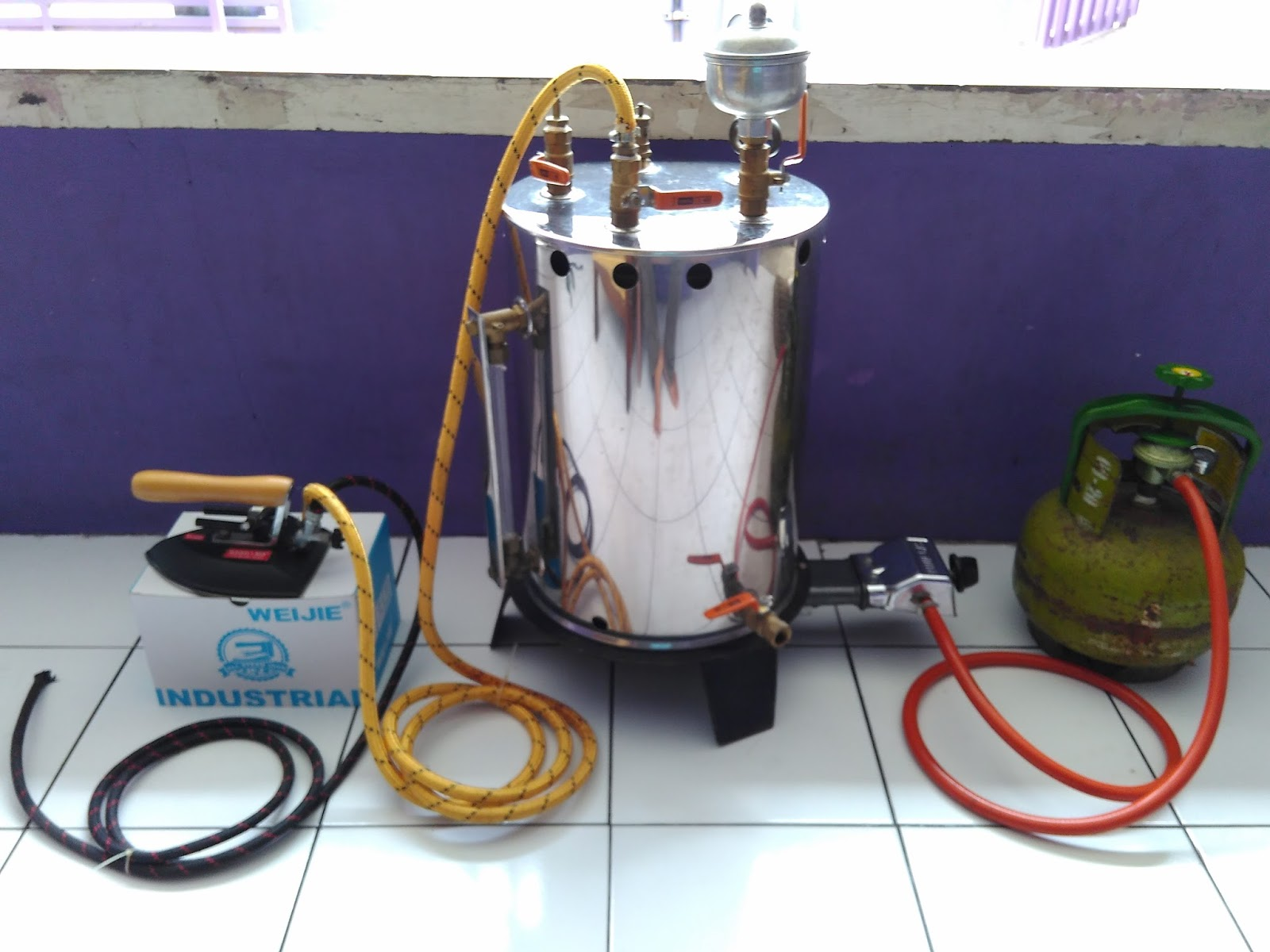 Image Result For Jual Setrika Uap Boiler Gas Indonesia