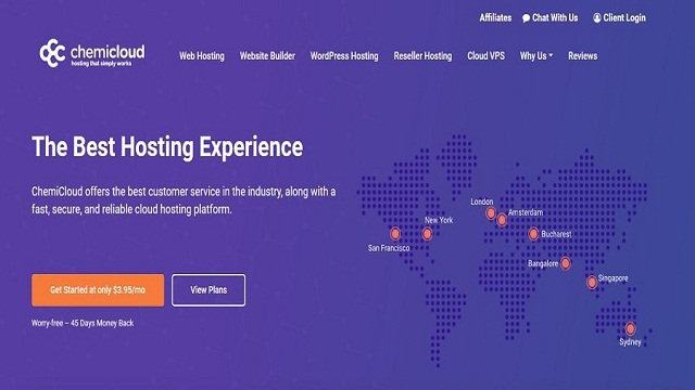 chemicloud web hosting service