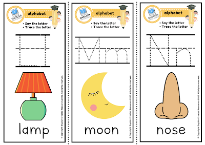 Pre-k Alphabet Flashcards