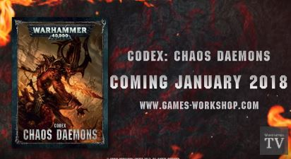 Codex Chaos Daemons Preview