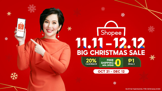 Kris Aquino for Shopee - 11.11 - 12.12 Big Christmas Sale