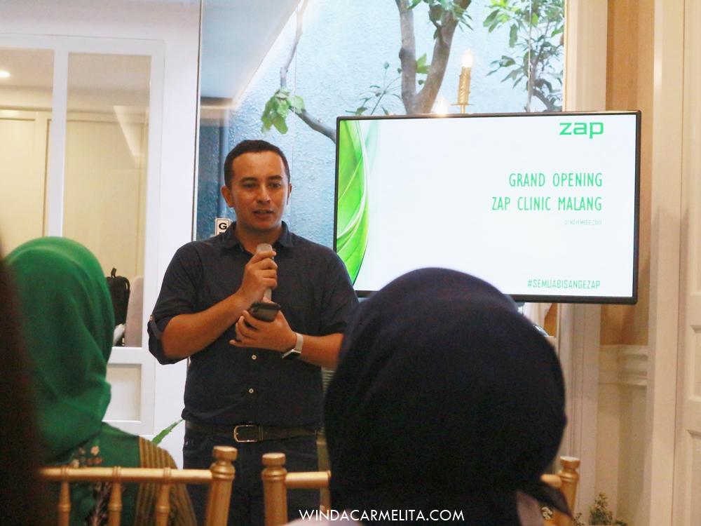 Treatment Super Nyaman Tanpa Rasa Sakit Di Zap Clinic Malang