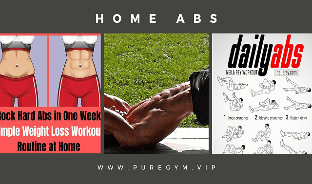 AT-HOME Exercises For Abs when GYM Near you Closed