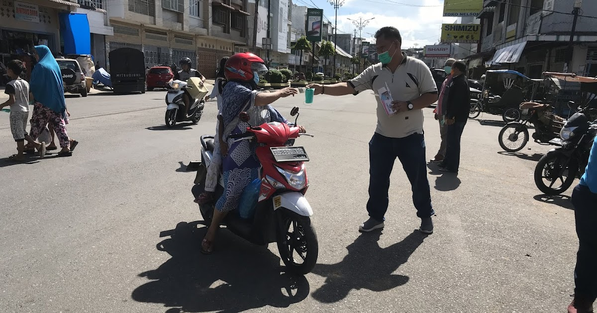 Pwi Labuhanbatu Bagikan Sarana Cuci Tangan Dan Masker Suluh Sumatera