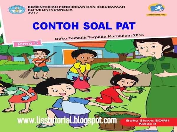 Contoh Soal UKK/PAT Tema 5 Semester 2 Kelas 2 SD/MI Kurikulum 2013