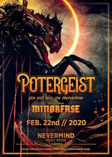 Potergeist album presentation (guest: Minorfase, 22 & 23.Feb.)