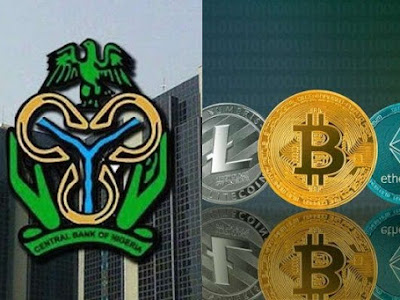 CBN shuts down cryptocurrency exchange bank accounts (Details)