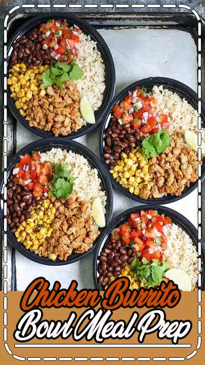 Think of this as healthier (and cheaper!) Chipotle bowls that you can have all week long. Save time and calories here!!! Simply think of this as a Chipolte bowl on-the-go. Except. You won't be clocking in a 1000-calorie dinner disaster. (Seriously, their typical order comes in at 1,070.