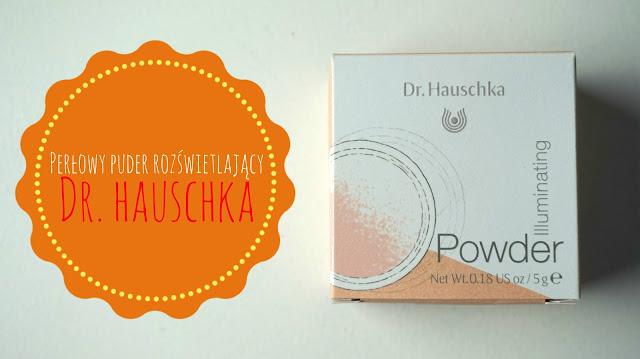 RECENZJA: Perłowy puder rozświetlający | Dr. Hauschka