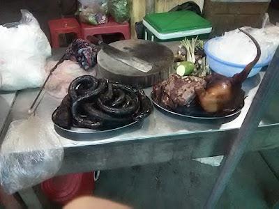 ベトナムの犬肉