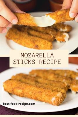 MOZZARELLA STICKS WITH STRING CHEESE