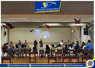 Sete Barras participa das oficinas de Mapeamento Cultural, Artístico, Ambiental e Turístico do Vale do Ribeira