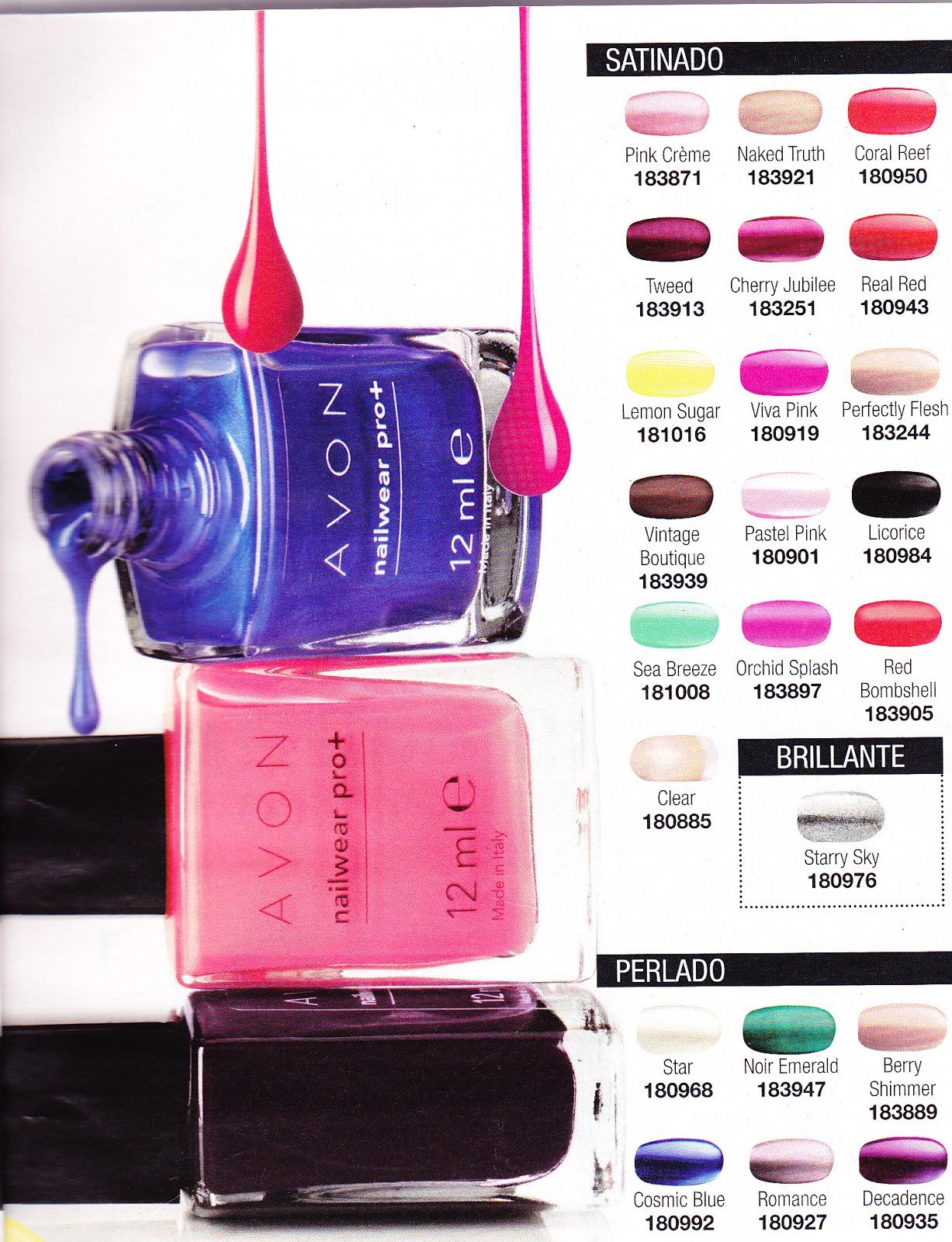 Todo Sobre Avon Colores Duraderos Con El Esmalte De Uñas