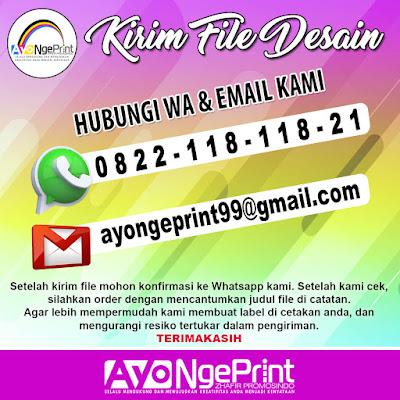 kirim file desain cetak spanduk umbul-umbul kain