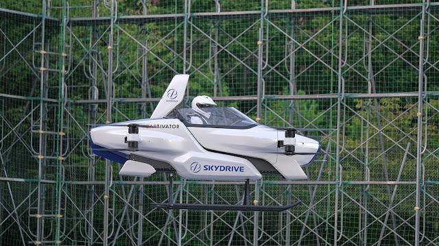 Skydrive: carro voador da Toyota chega ao mercado em 2023