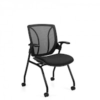 Global Total Office Roma Nesting Chair at OfficeAnything.com