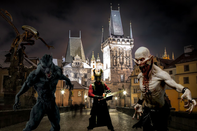 Vẻ đẹp bất tử với thời gian của lâu đài Hluboká gần Prague đã được sử dụng làm bối cảnh quay cho bộ phim về ma cà rồng Underworld. Không chỉ vậy, những quảng trường và cung điện tráng lệ ở Prague cũng trở thành trường quay cho bộ phim kinh điển Amadeus, thay thế cho Vienna trong nguyên tác. Đó không phải là lần duy nhất Prague được lên phim thay cho Vienna, khi bộ phim The Illusionist cũng sử dụng lâu đài Prague, thị trấn Tábor và ngôi làng cổ tích Cesky Krumlov làm bối cảnh quay. Hiện đại hơn, cả Mission: Impossible phần 1 và Casino Royale đều chọn Prague thơ mộng làm nền cho những pha hành động bốc lửa của mình.