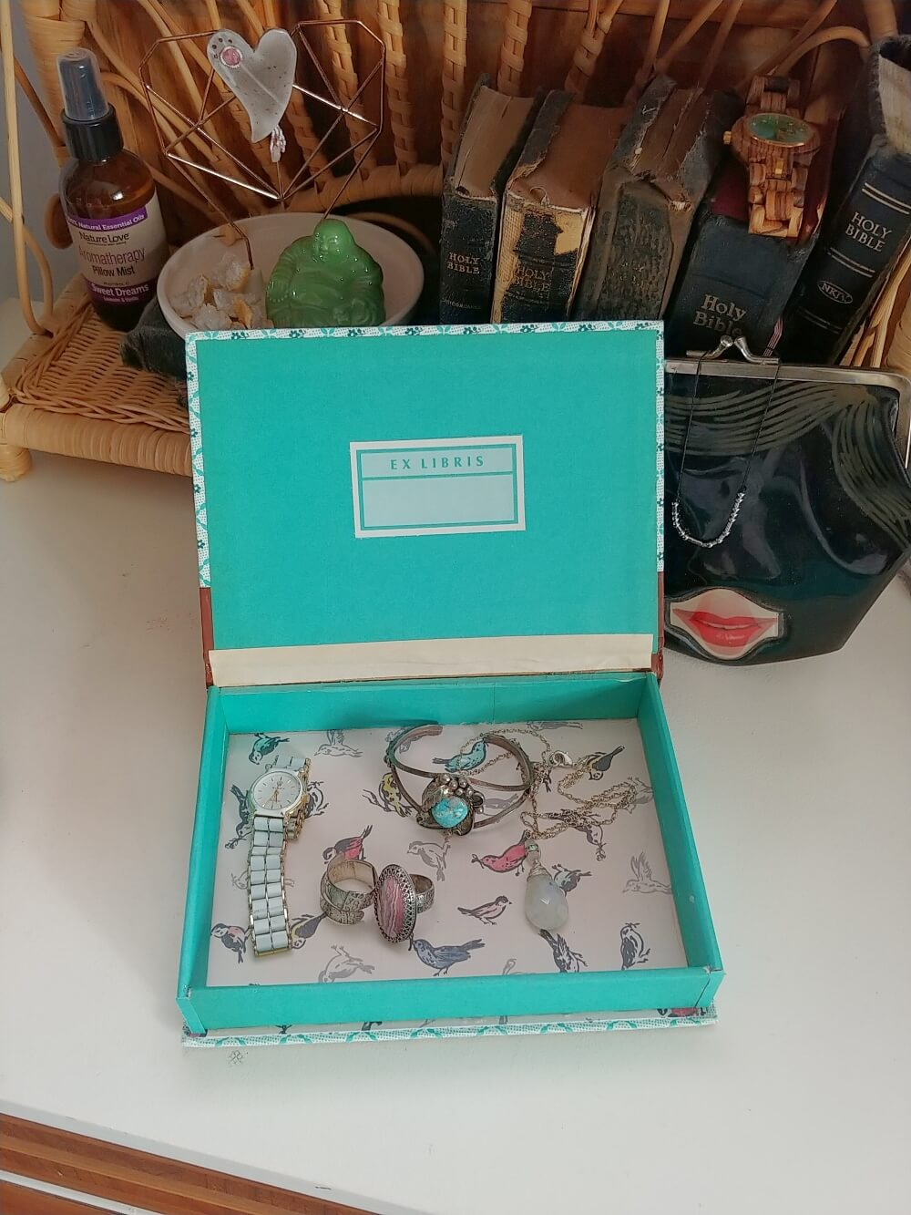jewelry box from a Reader's Digest book