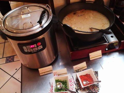 ビュッフェコーナー:スープ ホテルエミシア札幌カフェ・ドム
