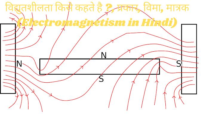 विद्युतशीलता किसे कहते है ?, प्रकार, विमा, मात्रक (Electromagnetism in Hindi)