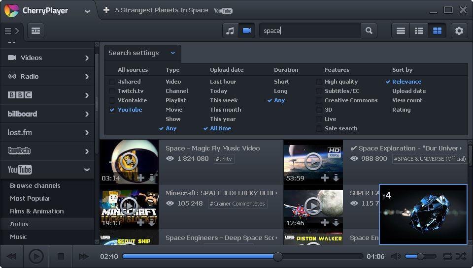 Cherry media player download