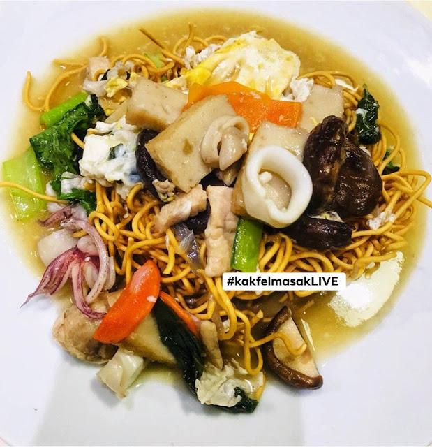 Resepi Crispy Cantonese Yee Mee Paling Sedap