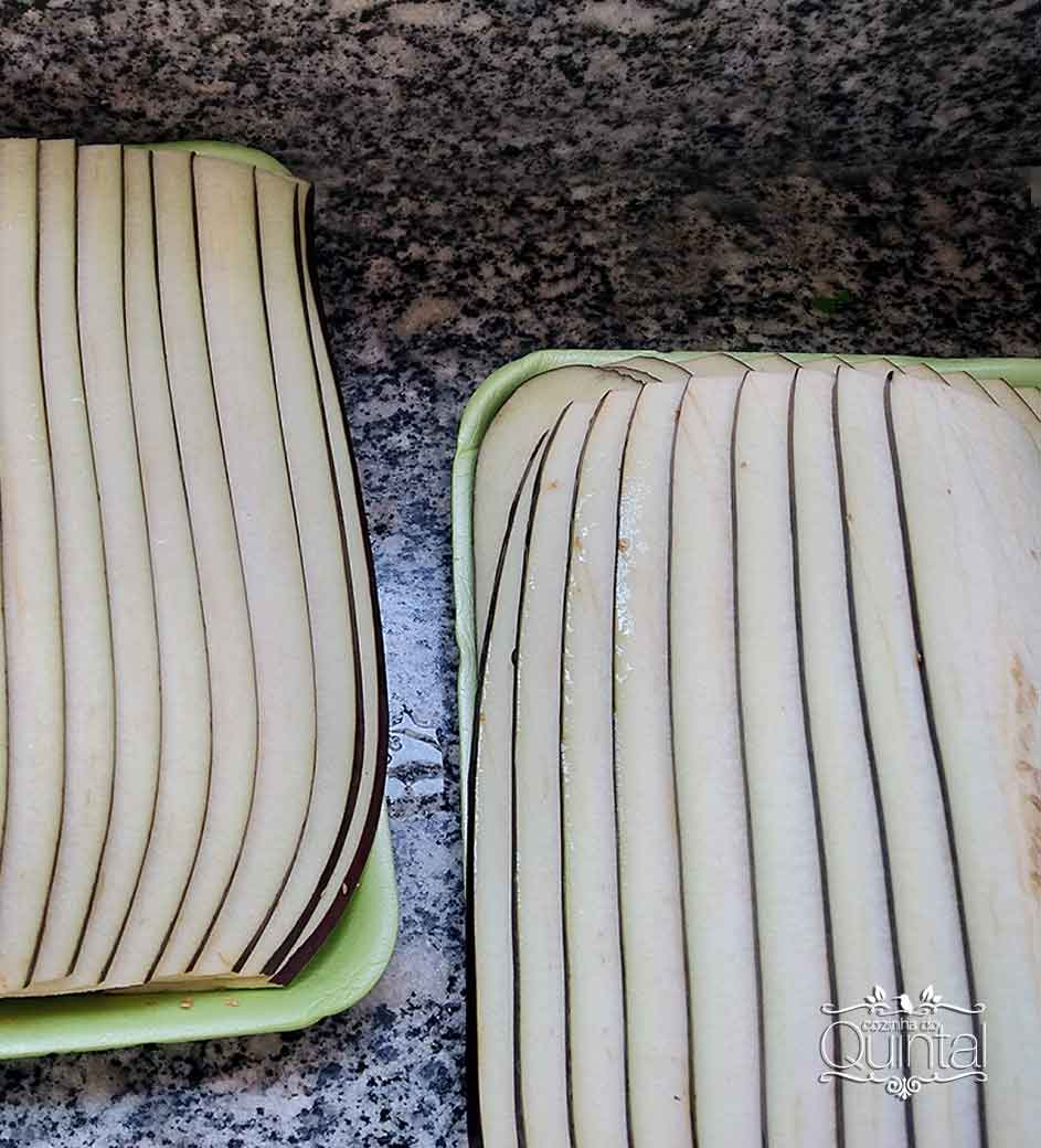 Lasanha de Beringela Fit na G 240 Galvanotek na Cozinha do Quintal
