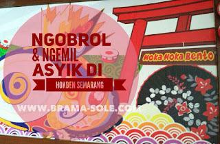 Ngobrol dan Ngemil Asyik Di Hokben Semarang
