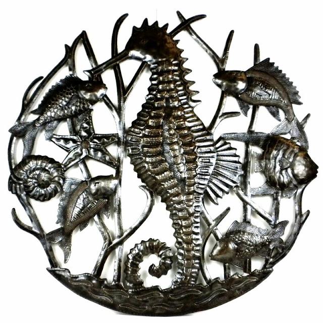 27 Seahorse And Fish Wall Decor