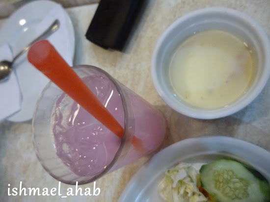 My drink in Meat Plus Cafe Subic