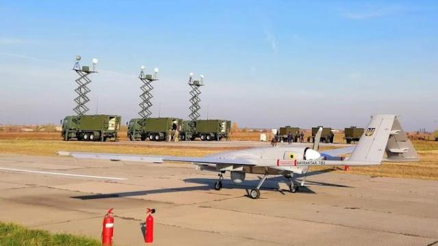 Turki Kirim Drone Bayraktar Pertama Pesanan Ukraina