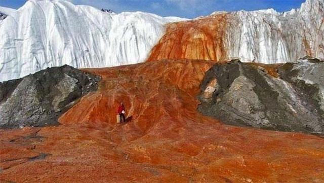 Air terjun Darah Antartika
