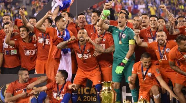 Chile Juara Copa America Centenario 2016!