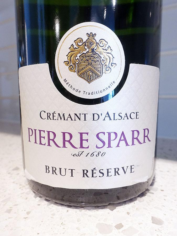 Pierre Sparr Brut Réserve Crémant d'Alsace (88+ pts)