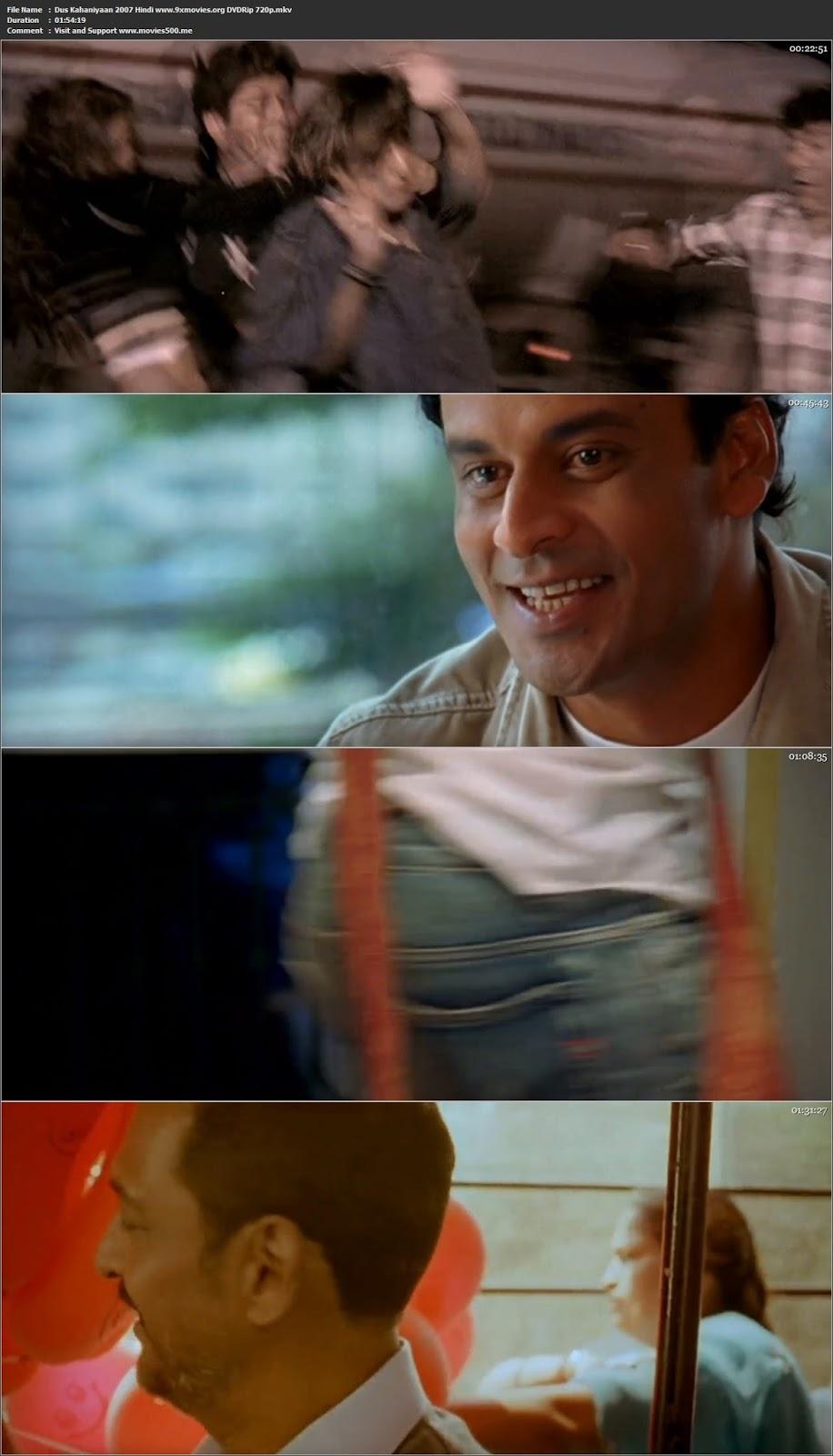 Dus Kahaniyaan 2007 Hindi Full Movie DVDRip 720p at movies500.bid