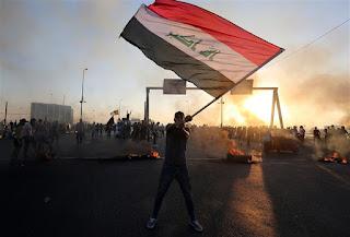 Aksi di Irak Singgung Iran, Wilayah Syiah Diserang Demonstran