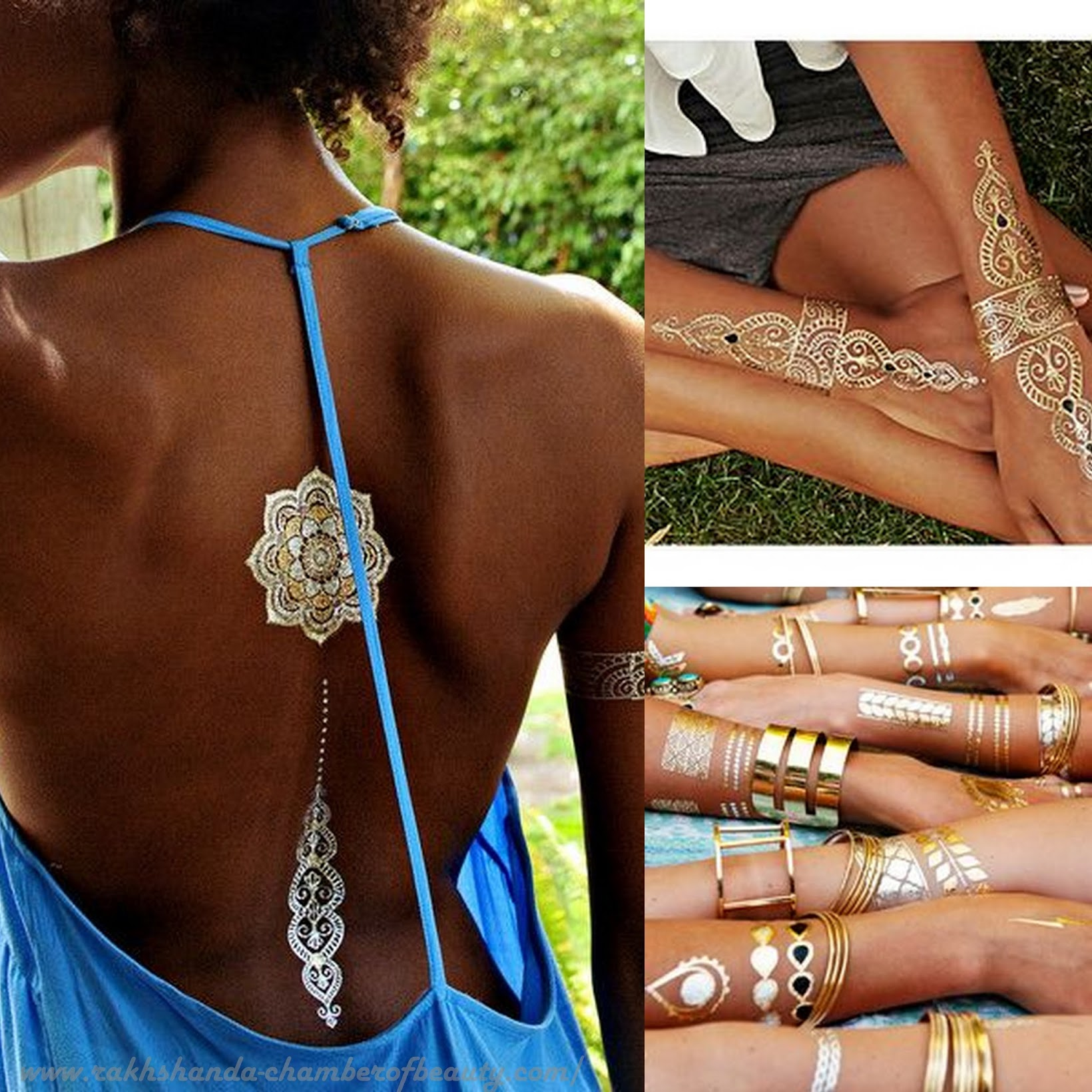 Fashion trends 2015- Metallic Flash tattoos   Stylemoi Giveaway, How to wear Metallic Flash tattoos, Style tips, Indian Fashion blogger, Chamber of Beauty