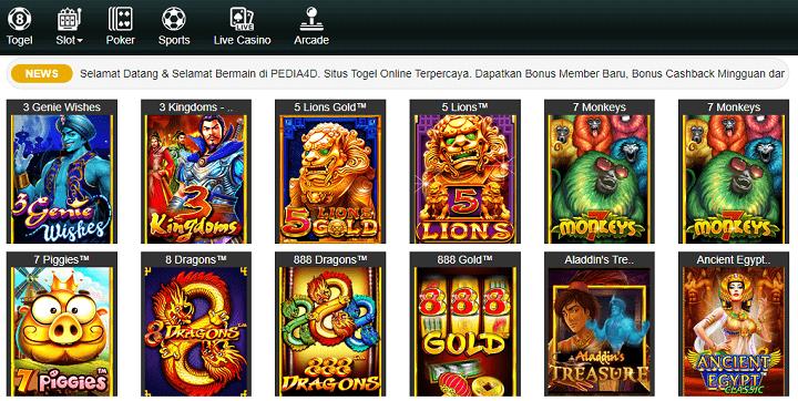 Slot Online PragmaticPlay