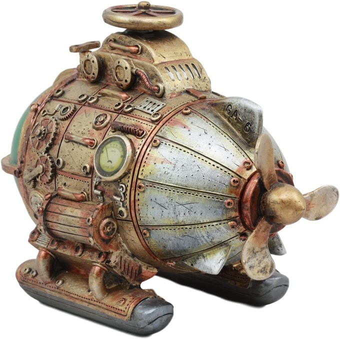 Steampunk Inspired Vintage Submarine