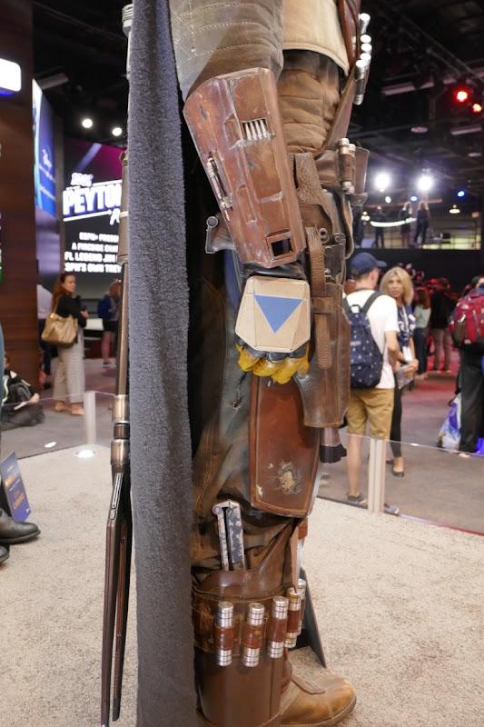 Mandalorian costume detail