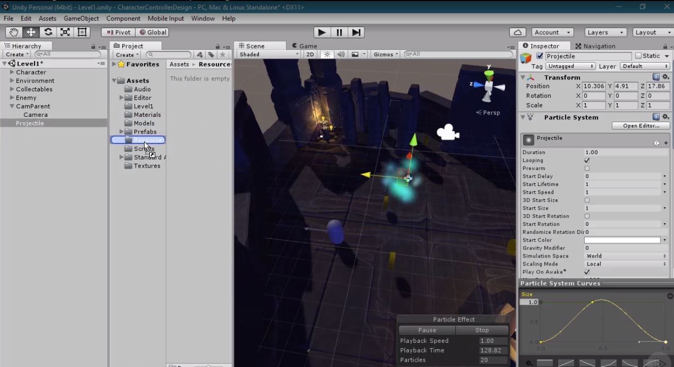 MJ's Developer Diaries: Game Prototyping in Unity, Part 3: Character