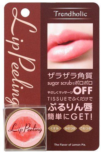 Kem tẩy tế bào chết cho môi Trendholic Lip Peeling, nội địa Nhật