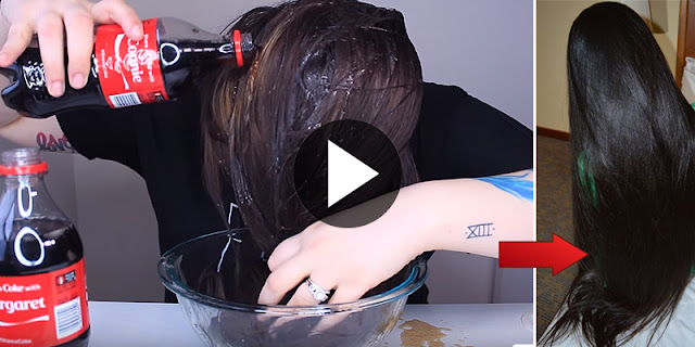 Beauty Hacks - She Wash Her Hair With Coca Cola And Get Long And Shiny Hair!