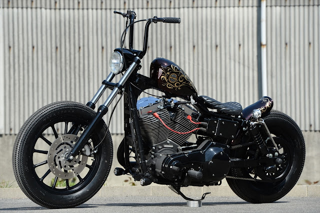 Harley Davidson By The Oldspeed Factory Hell Kustom