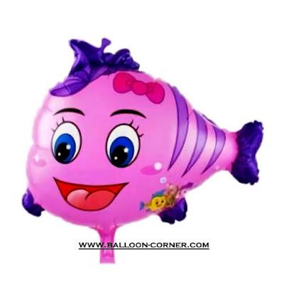 Balon Foil Nemo Kecil Pink