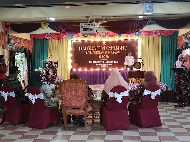 Majlis Hari Anugerah Cemerlang Sekolah Kebangsaan Rahang